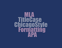 Explaining APA, MLA and Chicago citations