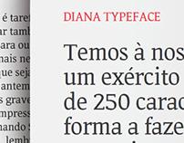 DIANA TYPEFACE