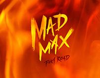 """""""MAD MAX Fury Road""""  FAN ART POSTER"""