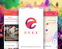 Evez - Event Discovery & Booking App UI Kit