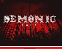 Demonic Font