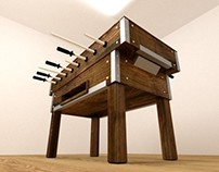 3D | The Foosball Table