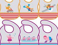 EVA Bibs - Product/Graphic Design