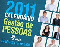Calendário Rh Editora Abril 2011