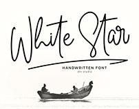White Star Font | Free