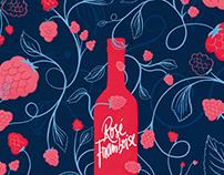 Fruits and Wine: The picnic blanket billboard