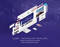 UCAR - Creative Car Dealer Website Template.