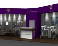 Hotel Nikopolis - Exhibition stand