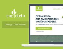 Cactolela - WebApp
