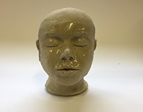 Sculpting faces in Ceramics