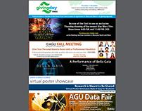 AGU Fall Meeting Web Banners (Multiple Promo's)