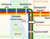 Hiroden Map