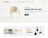 Furnish - Minimalist Furniture Template