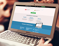 Competera, landing page, web