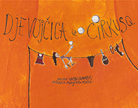"""Djevojčica iz Cirkusa""-""Girl from Circus""-Picture Book"