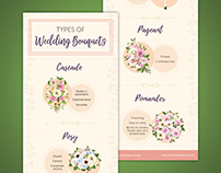 Wedding Bouquet Infographic & Video