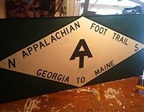 Appalachian Trail Sign Replicas