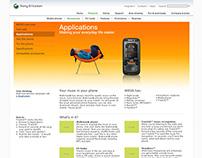 Sony Ericsson redesign
