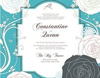 5 Wedding Invitation 7x7 ver06-1