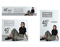Ad Banner | Fashion