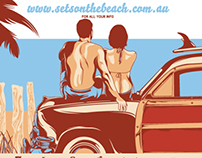 Set's On The Beach 2012 - 2013 Poster Series