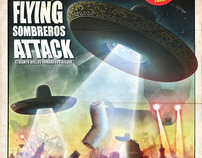 THE GIANTS FLYING SOMBREROS ATTACK