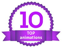 Top 10 animations by AnimacjaReklamowa.pl
