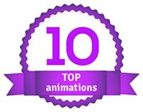 Top 10 animations by AnimacjaReklamowa.pl
