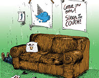 Come on Over / Sleep on the Couch