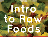 Yoga  and Raw Food Flyers