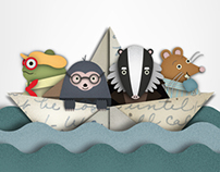 The Wind in the Willows - Penguin Design Awards 2013