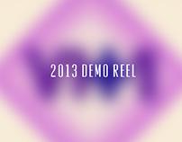 2013 Demo Reel