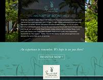 Jamaica Luxury Fitness Retreat Landing Page