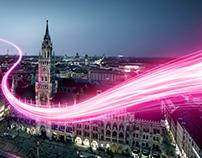 Telekom LTE Ad Campaign