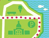 Wascana Park Run Map