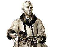 Ukrainian traditional folk men's clothes