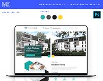 Modern Home / onepage / nieruchomości