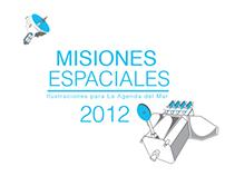 Misiones Espaciales - Agenda del Mar