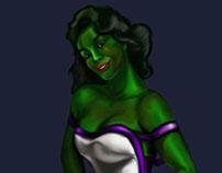 She-Hulk Pin-up