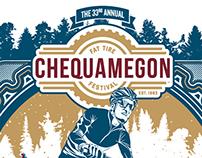Chequamegon Fat Tire Festival Poster