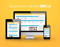 SMS.cz webdesign