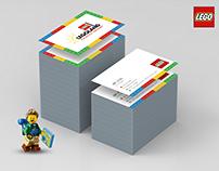 LEGOLAND Name Card Design