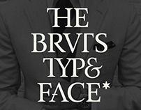 BRVTS Typeface