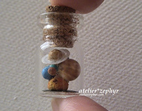 Works under the theme of the Solar System ・太陽系をテーマにした作品
