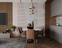 Kitchen studio vizualization and design