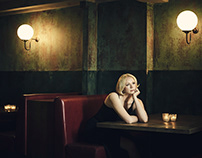 Gwendoline Christie by Jason Bell for Newsweek