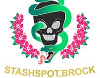 STASHSPOT.BROCK Logo Design