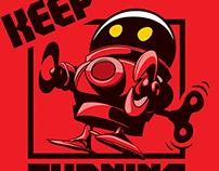 Keep Turning - Illustration