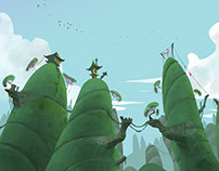 Backgrounds - Environments - Color & light variations