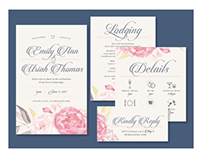 Wedding Invitation Design #DESIGNWORKSTM